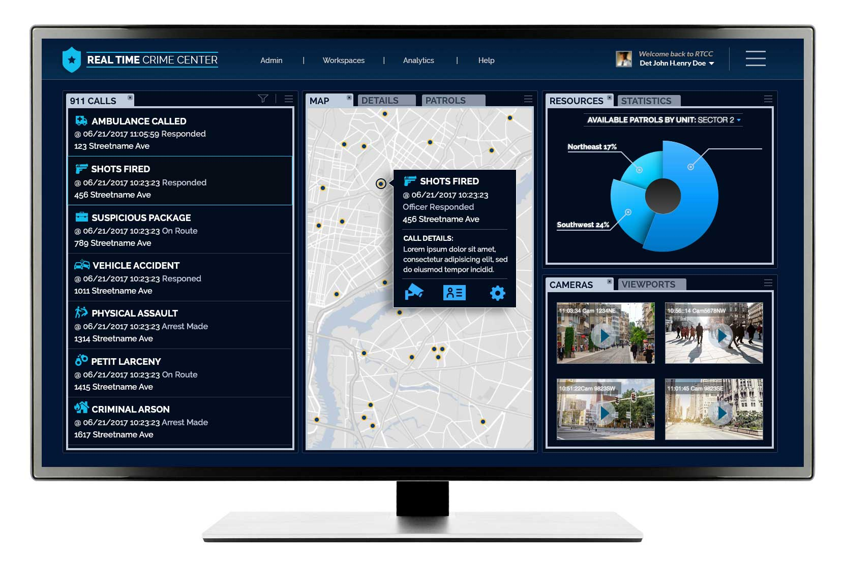 Real Time 911 >> Real Time Crime Center Software Development Company In Nyc